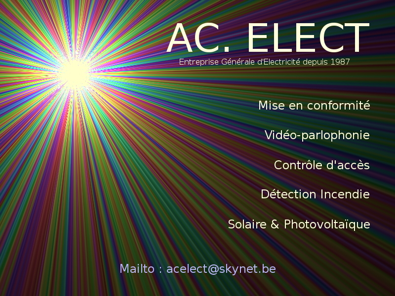 ACelect homepage